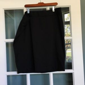 Knee length dress skirt